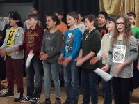 Schüler der Freien Christlichen Gesamtschule in Alfter
