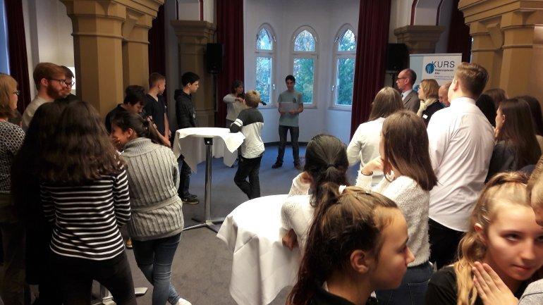 Lernpartnerschaft in Siegburg: Gesamtschule Siegburg und Hotel Leoninum