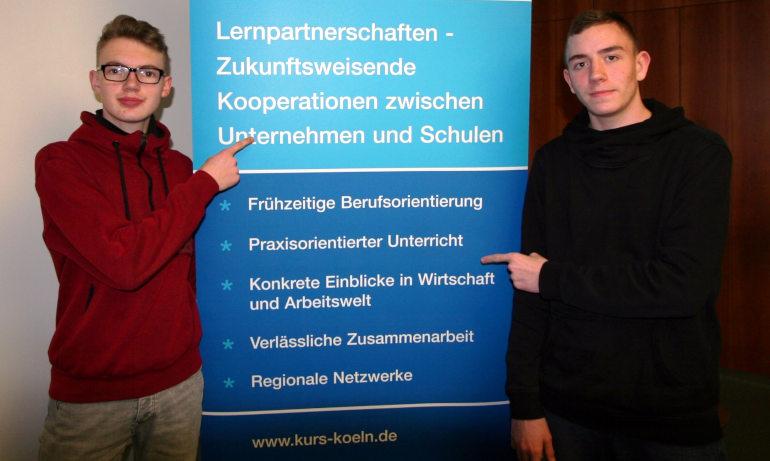 neue KURS-Partnerschaft zwischen äfen und Güterverkehr Köln AG/RheinCargo GmbH & Co. KG - Hauptschule Großer Griechenmarkt
