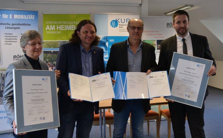 KURS Lernpartnerschaft in Troisdorf ratifiziert