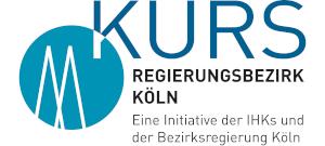 KURS Köln, eine Initiative der IHKs und der Bezirksregierung Köln Logo