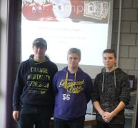 Schülerfirma Mr. Sampler beeindruckt Metsä Tissue