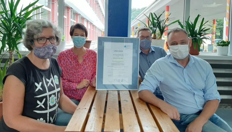Fortschreibungsgespräch: Teilnehmer mit Masken