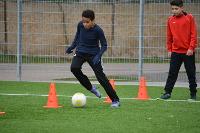 Fußballtraining mit Bundesligaprofis